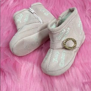 Juicy couture baby boots